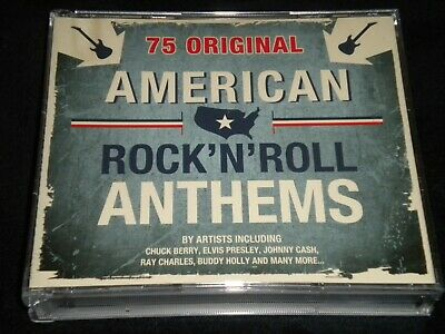 American Rock'N' Roll Anthems - Various Artists - 3 CD's Album - 2011