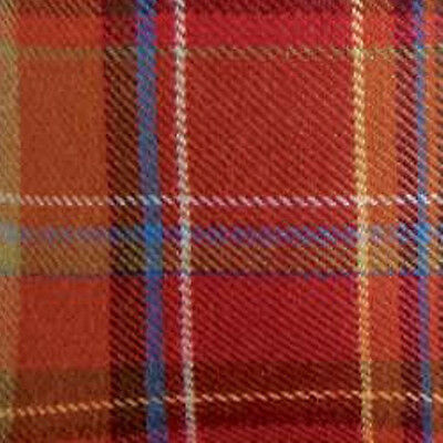 Longaberger Tall Tissue Basket Toboso Plaid Fall Fabric OE Liner Only New
