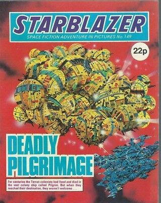 Deadly Pilgrimage,starblazer Space Fiction Adventure In Picture,comic,no.149