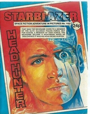 Head Hunter,starblazer Space Fiction Adventure In Pictures,comic,no.163