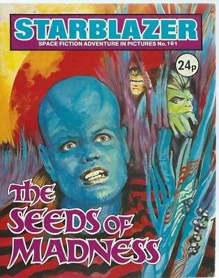The Seeds Of Madness,starblazer Space Fiction Adventure In Pictures,comic,no.161