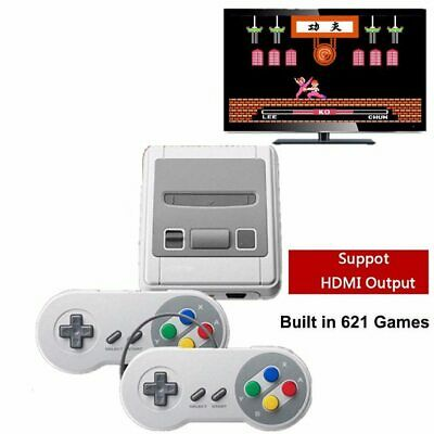Retro Mini Classic TV HDMI 8 Bit Video Game Console Built-in 621 Gaming Player