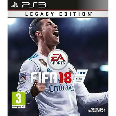 FIFA 18  -  ITALIANO [ Playstation 3 | PS3 ]