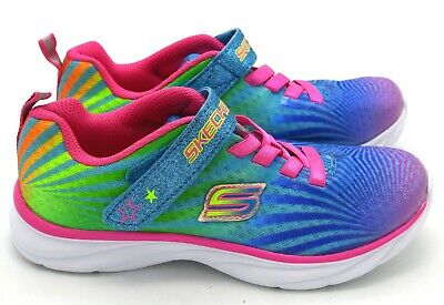 GIRL'S SKECHERS 80591NMLT Pepsters Color Beam Multicolor 9