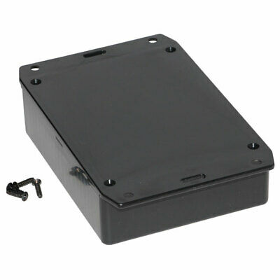 Hammond 1591GSFLBK Multipurpose GPABS Enclosure Flanged Lid 121 x 94 x 34 Black