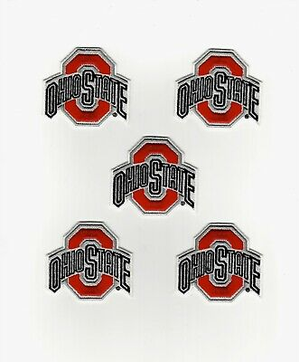 new arrival 5ac6b 87624 10 Huge NCAA Ohio State Buckeyes Iron-On Patches.MINT.Lot.Fast