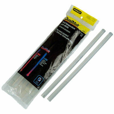 Stanley 1-GS25DT Dual Temp Glue Sticks 11.3mm x 250mm (12)