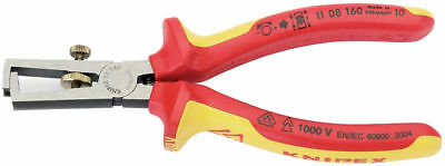 Knipex 11 08 160 VDE Insulated Wire Strippers Stripping Pliers 160mm 31930