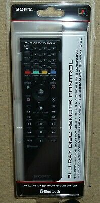 Sony Playstation 3 Ps3 Official Bluray Multimedia Bluetooth Remote Control Media