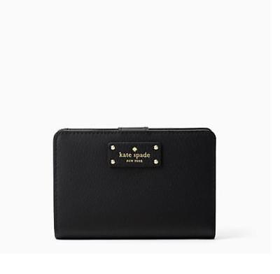 bc2ec456a0e3f Kate Spade New York Tellie Grove Street Leather Bifold Wallet
