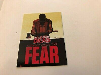 "The WALKING DEAD Series 2 ""Something To Fear"" Chase Card #STF-2 - 2013!"