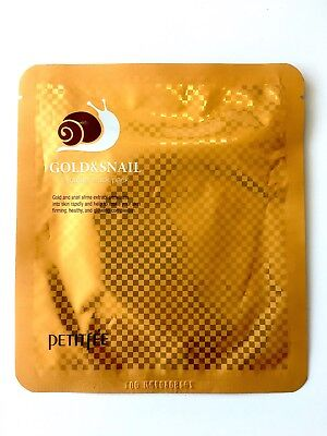 PETITFEE Gold&Snail hydrogel mask pack - masque de soin visage hydratant - neuf