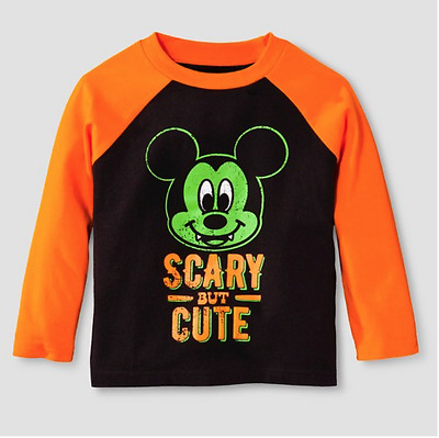 Disney Toy Story Deck the Halls 18M Long Sleeve T-Shirt Holiday Xmas Boy Red