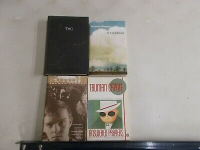 4 Truman Capote Answered Prayers Other Voices Cold Blood Music Chameleons