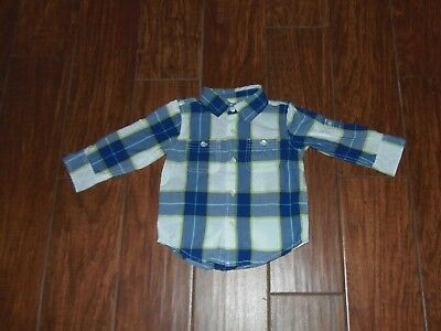 baby GAP Boys Shirt Size 18-24 Months ~ Long Sleeves ~ Adorable ~ Christmas