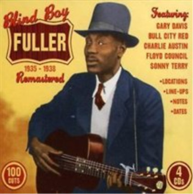 Blind Boy Fuller-1935 - 1938 Remastered (UK IMPORT) CD NEW