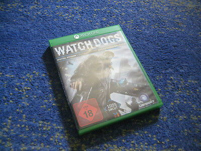 XBox One Watch Dogs Special Edition mit Breakthrough-Pack 100 % Uncut