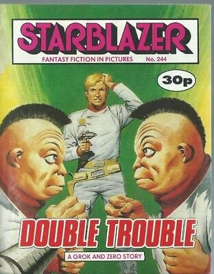 Double Trouble,starblazer Fantasy Fiction In Pictures,comic,no.244