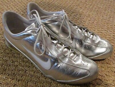 meilleur site web e3e4d 9f3db NIKE SHOX RIVAL Womens Leather Running Fitness Gym Trainers ...