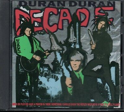 DURAN DURAN - Decade - CD Album *Best Of**Greatest Hits**Collection**Singles*