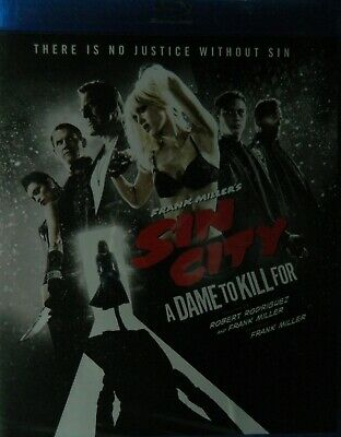 Robert Rodriguez's/Frank Miller's SIN CITY A DAME to KILL For (2014) Blu-ray