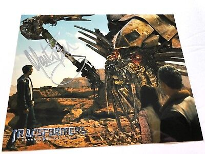 Mark Ryan Autographed PHOTO 8x10 Signed AUTO Transformers Fallen JETFIRE Voice