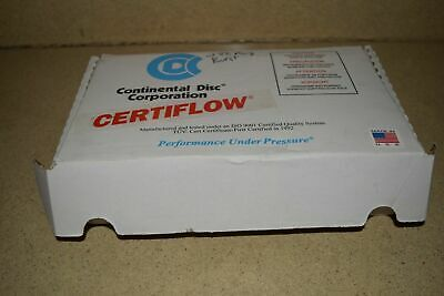 "Continental Disc Corp Certiflow Tye 1/2"" Special Sra Rupture Disc - Includes 10"