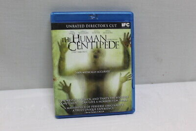 The Human Centipede Unrated Director's Cut Blu-Ray DVD