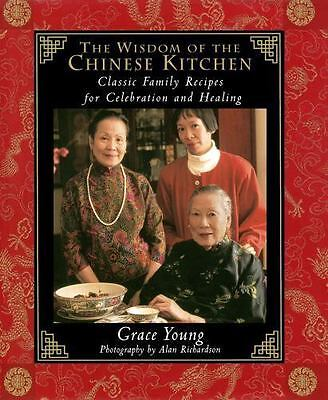 Grace Young~THE WISDOM OF THE CHINESE KITCHEN~SIGNED 1ST(2ND)/DJ~NICE COPY