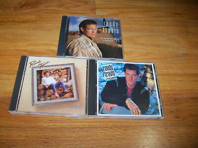 Randy Travis CD Lot Greatest Hits Volume Two / Always & Forever/ Old 8x10