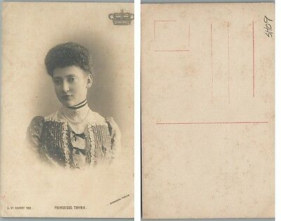 Antique Rppc Real Photo Postcard Princess Thyra Of Denmark