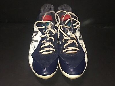 345aa9459d3 Mitch Haniger Mariners Autographed Signed 2018 Game Used Cleats Spikes E