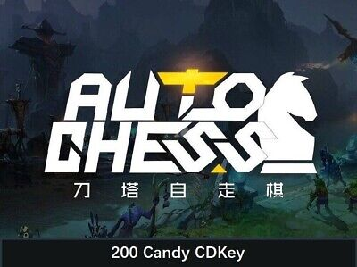 Dota2 Auto Chess / AutoChess 200 Candy CDKEY Digital Code