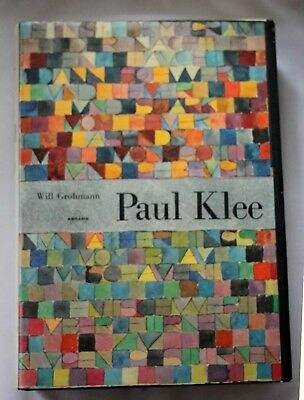 1955 PAUL KLEE Monograph WILL GROHMANN Abrams ART Reference HISTORY Swiss
