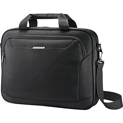 "Samsonite Xenon 3 Laptop Shuttle 15"" - Black Non-Wheeled Business Case NEW"