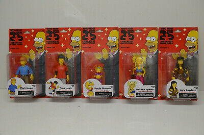 Neca The Simpsons 25 Simpson Serie 2 Hamill Britney Spears Lucy Lawless Hawk