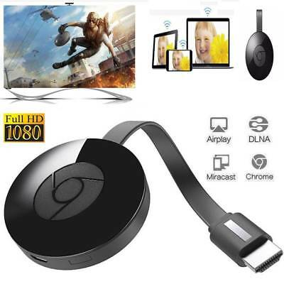 Chromecast(wacast) (3rd Génération) Media Streamer Smart Home Automation-Noir FR