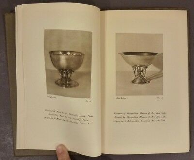 1920s Georg Jensen Silversmith Illustrated French Silver Trade Catalog