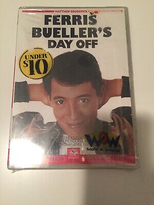 *New & Sealed*  Ferris Bueller's Day Off DVD R4 Free Post
