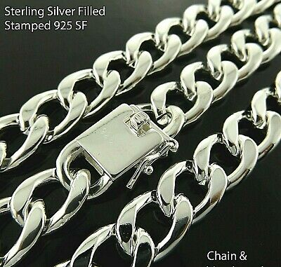 """Necklace Chain 18k Yellow G/F Gold Solid Belcher Padlock Bolt-ring Design 18"""""""