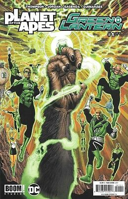Planet of the Apes Green Lantern Six issue Limited Crossover Series from DC Comi
