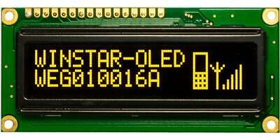 DISPLAY: OLED GRAPHICAL 100x16 Window dimensions: 66x16mm