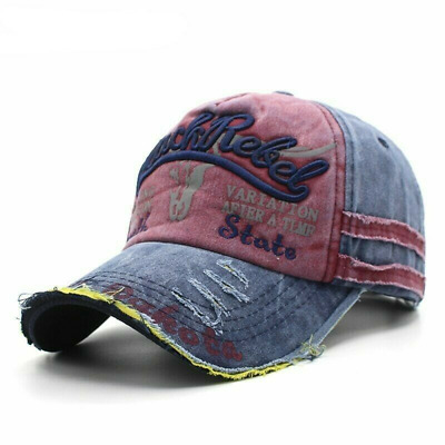 AKIZON Baseball Cap Hats For Men Women Brand Snapback Caps MaLe Vintage Washed