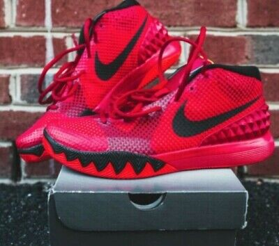 c6329878524 VNDS NIKE KYRIE 4 Red Carpet Uncle Drew Size 12 Basketball Red Orbit ...