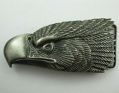 Vintage 1976 BIG EAGLE Great American Buckle Co Belt Buckle Serial No. 120