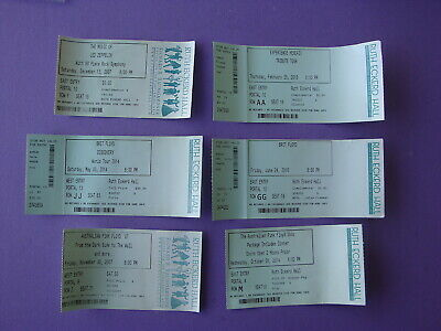 6 Tribute Bands Led Zeppelin Hedrix Brit & Australian Pink Floyd Concert Tickets