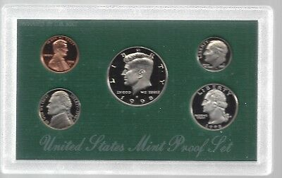 United States Mint Proof Set-1997 S-COA