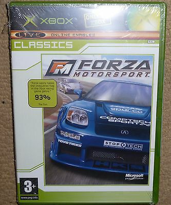 FORZA MOTORSPORT for MICROSOFT XBOX ORIGINAL - BRAND NEW & FACTORY SEALED! Boxed