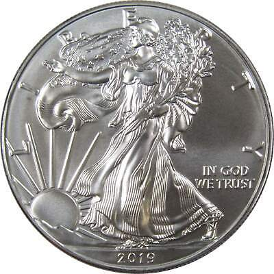 2019 $1 American Eagle .999 1 oz Silver Dollar US Coin Uncirculated Mint State