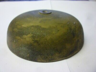 Original Antique Longcase Grandfather Or Bracket Clock Bell 4ins Diameter (z24)